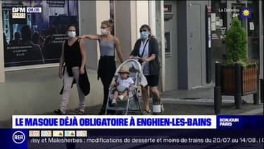Enghien-les-Bains: le port du masque déjà obligatoire