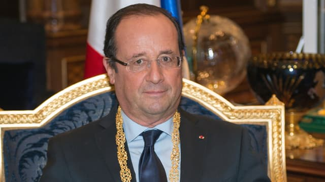 François Hollande lors d'une précédente visite en Arabie Saoudite, au palais de Jeddah, en novembre 2012.