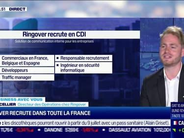 Ringover recrute dans toute la France