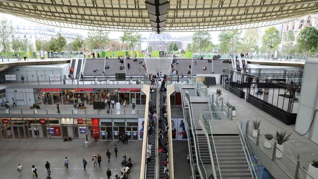Une bagarre a éclaté à proximité du Forum des Halles lundi soir.
