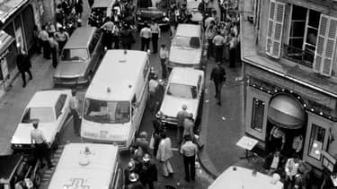 L'attentat de la rue des Rosiers avait fait six morts et 22 blessés à Paris le 9 août 1982