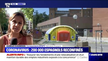 Coronavirus: 200.000 Espagnols reconfinés