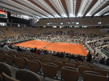 L'année précédente, Roland Garros c'était déroulée à huis clos en raison de l'épidémie de coronavirus