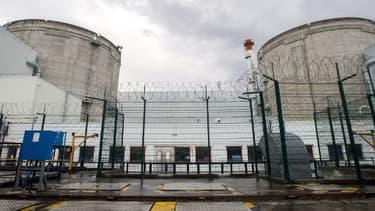 La centrale nucléaire de Fessenheim, dans le Haut-Rhin, le 9 avril 2013.