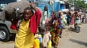 """Lucile Grosjean de l'ONG Action Contre la Faim : """"Un sac de maïs, qui à Mogadiscio habituellement vaut 5€, en ce moment coûte 45€. C'est inabordable pour la quasi-totalité des gens."""""""