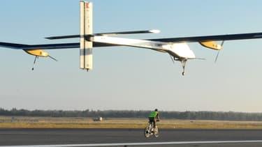 Solar Impulse (premier du nom) prenait son envol pour un voyage à travers le désert marocain, le 21 juin 2012.