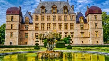 Le château de Fléchères
