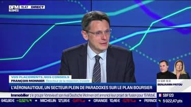 François Monnier (Investir) : L'aéronautique, un secteur plein de paradoxes sur le plan boursier - 25/05
