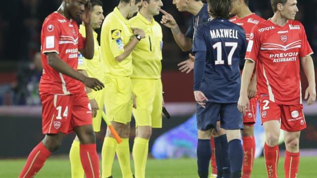 Ibrahimovic et les Parisiens ont eu du mal à garder leurs nerfs