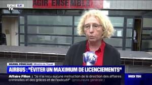 """Muriel Pénicaud est en contact avec la patron d'Airbus pour """"éviter un maximum de licenciements"""""""