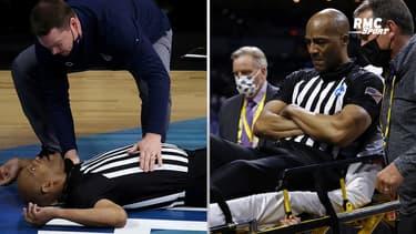 Frayeur en NCAA, un arbitre s'effondre pendant un match