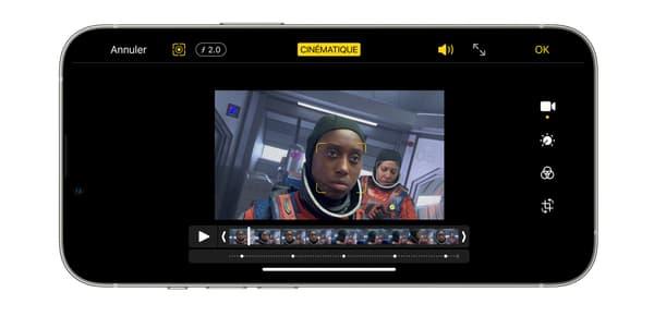 """Le mode """"Cinématique"""" de l'iPhone 13 Pro d'Apple"""