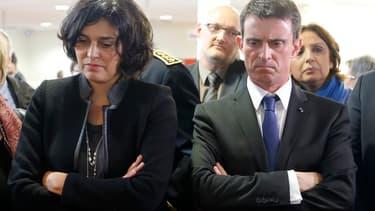 Myriam El Khomri et Manuel Valls s'emploient à défendre le projet de loi travail.