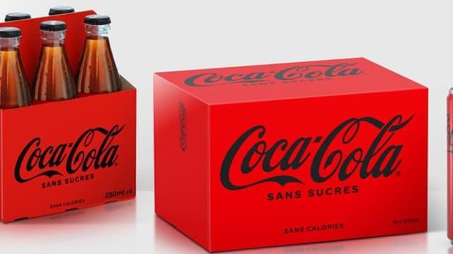 Coca-Cola Sans Sucres s'offre une nouvelle recette