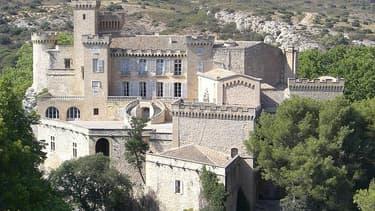 Le Château de Barben, en Provence.