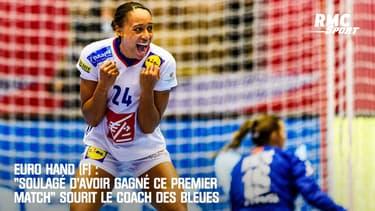 """Euro Hand (F) : """"Soulagé d'avoir gagné ce premier match"""" sourit Krumbholz"""