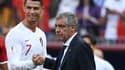 Ronaldo et Santos
