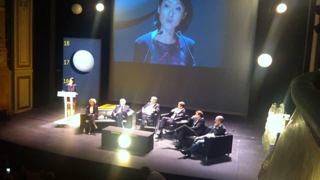 La ministre de la Culture Fleur Pellerin aux rencontres cinématographiques de Dijon