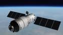Vue d'artiste de la station spatiale chinoise Tiangong-1
