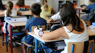 Une salle de classe (photo d'illustration)