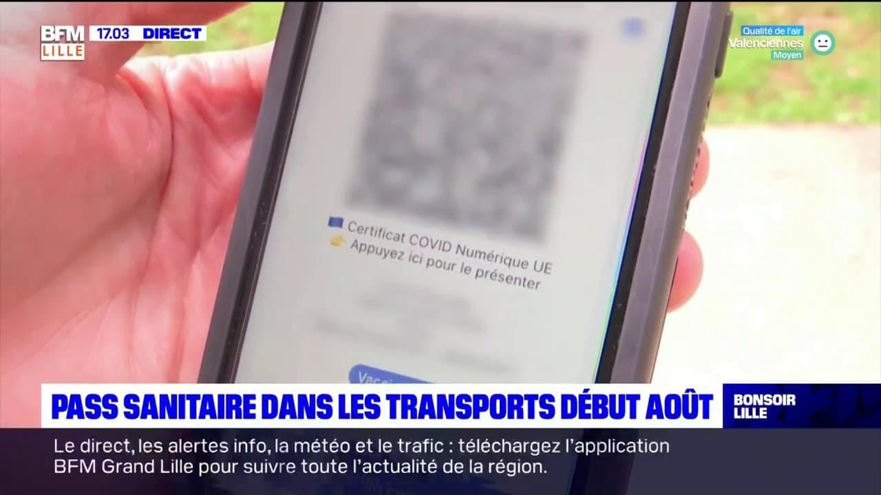 Pass sanitaire: les transports concernés par cette mesure début août