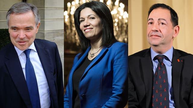"""Bernard Accoyer, Samia Ghali et Jean-Luc Roméro participent à l'émission """"Politiques Undercover""""."""