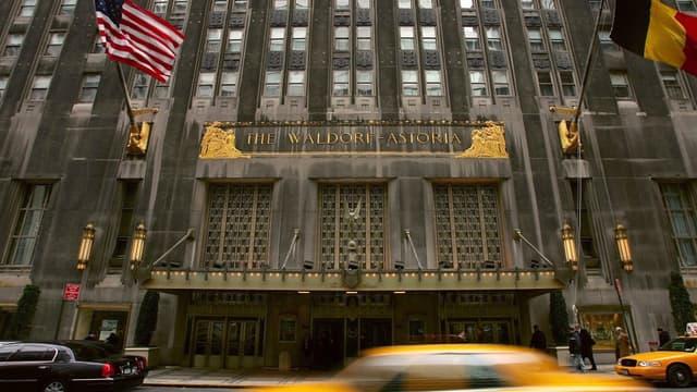 Le Waldorf Astoria va désormais appartenir au groupe d'assurances chinois Anbang Insurance.