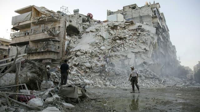 Le régime syrien s'est emparé d'un nouveau quartier rebelle d'Alep, dans la nuit de dimanche à lundi. (Photo d'illustration)