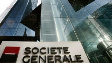 Des employés de Société Générale étaient en grève ce mardi 8 janvier