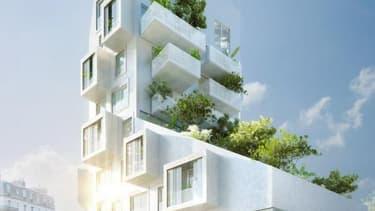 Le projet d'immeuble avenue du Général-Leclerc