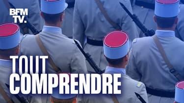 Des militaires pendant le défilé du 14 juillet 2020 à Paris.