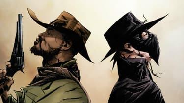 Le comic book Django et Zorro