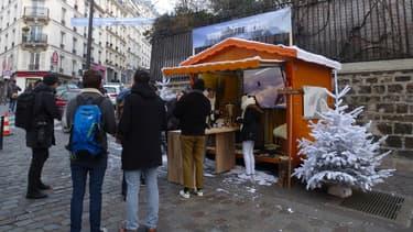 Quatre jours durant, Google s'installe au pied de la butte Montmartre.