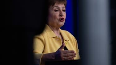 """Kristalina Georgieva a souligné qu'il fallait s'attendre à """"une récession au moins aussi grave que pendant la crise financière mondiale sinon pire""""."""
