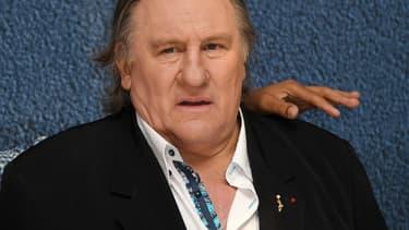 Gérard Depardieu, le 15 mai 2016