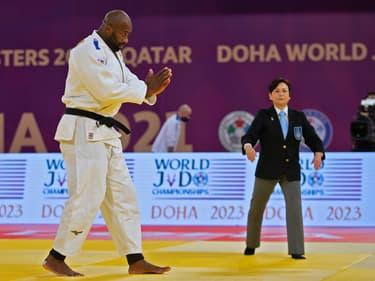 Teddy Riner à Doha