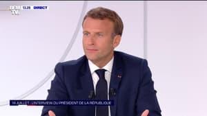 """Emmanuel Macron reconnaît ne pas être """"parvenu"""" à réconcilier les Français"""