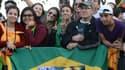 Le pape François est très attendu dimanche pour son ultime messe au Brésil.