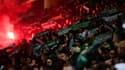 Des supporters de Saint-Etienne