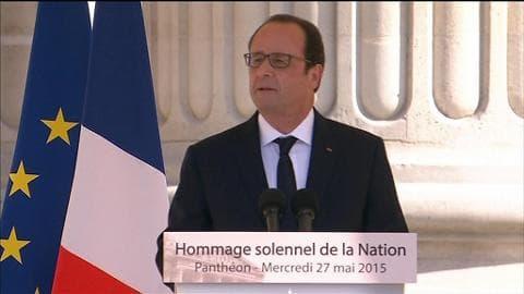 """Hollande: """"Face à l'humiliation, ils ont dit non"""""""