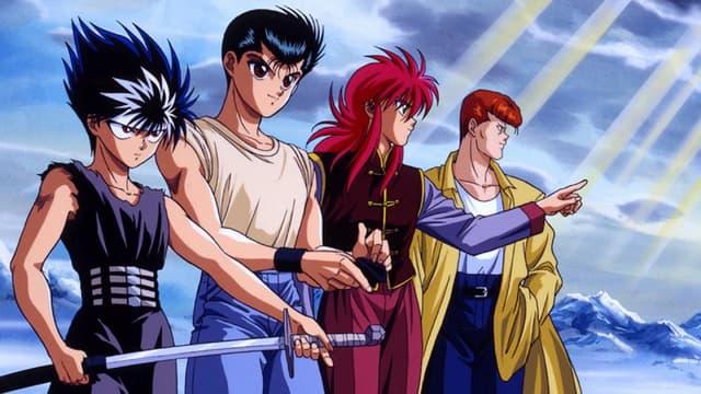 "La série animée ""Yū Yū Hakusho"""