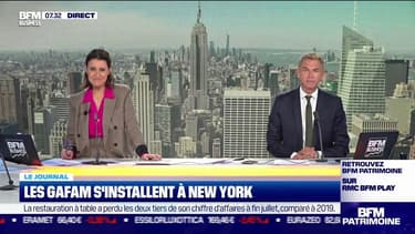 Les Gafam s'installent à New York