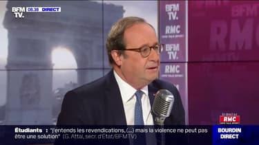 """François Hollande revient sur les attentats du 13-Novembre: """"Dans cette nuit-là, je me dis 'mais quand est-ce que ça va s'arrêter ?'"""""""