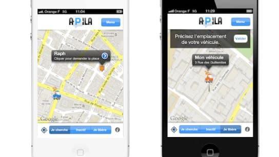 Apila propose d'apporter une réponse technologique au problème du stationnement dans les grandes villes.