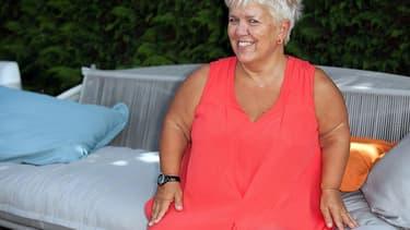 La comédienne Mimie Mathy en août 2016.