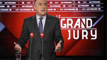 """Didier Guillaume, invité du """"Grand Jury"""" de RTL, Le Figaro et LCI, dimanche 17 novembre 2019."""