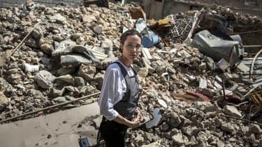 Angelina Jolie à Mossoul, en Irak