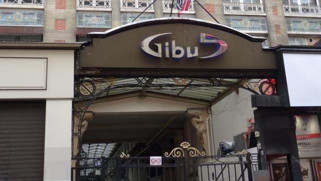 La devanture du Gibus à Paris