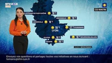 Météo:un grand soleil ce dimanche, jusqu'à 31°C cet après-midi à Lyon