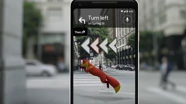 Google Maps passe à la réalité augmentée.